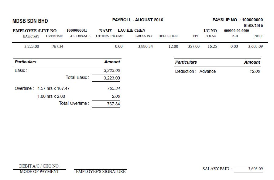 payslip sample doc download i have seen some people enclosed sample payslip from malaysia kuala lumpur